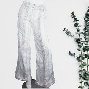 Elevenses Anthropologie Pinstripe Pants Wide Leg 4